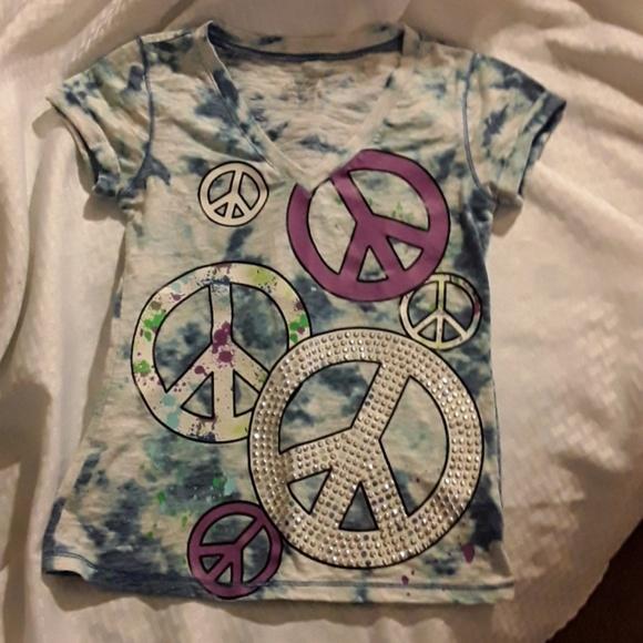 20 JUSTICE Girls Fearless Butterfly Raglan Shirt Top NEW